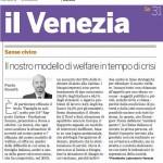 20009-10-31 IL VENEZIA Il nostro modello di welfare in teempo di crisi