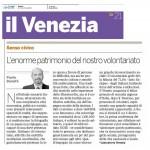 2009-11-21 il venezia - l enorme patrimonio del nostro volontariato
