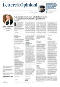 Gazzettino - 2021-09-11 Lettera su Tornelli